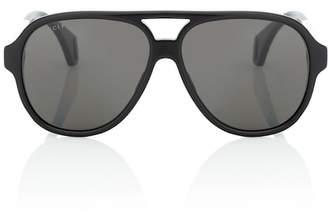 efbd6a5cc538 Gucci Aviator acetate sunglasses