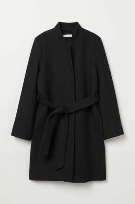 H&M Wool-blend Coat - Black