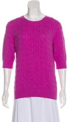 162f76d05b2b Purple Short Sleeve Women's Sweaters - ShopStyle