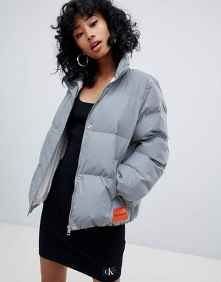 Calvin Klein Jeans padded jacket with reflective technology