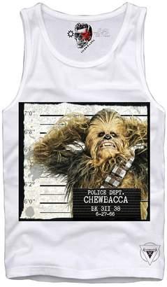Co E1Syndicate Tank TOP Wookie Chewbacca Mugshot YODA Vader Boba