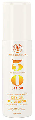 Vita Liberata Passionflower and Argan Dry Oil SPF 50.
