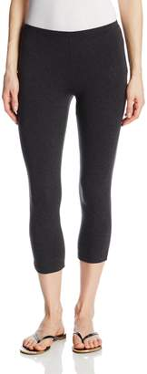 Hue Women's Cotton Capri Leggings