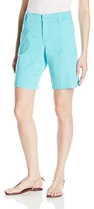 Lee Indigo Women's Cargo Pocket Bermuda Short