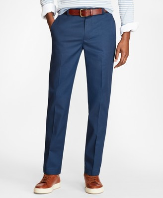 Brooks Brothers Milano Fit Multi-Check Stretch Advantage Chinos