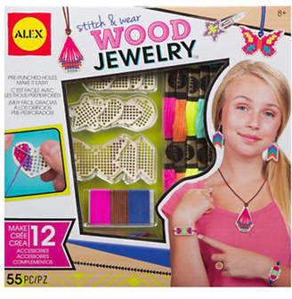 Alex Stitch and Wear Wood Jewellery Kit