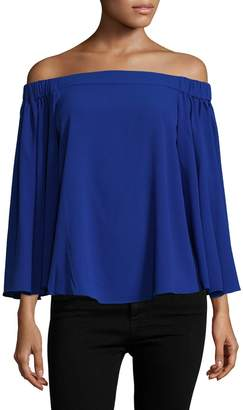 Rachel Roy Women's Cape Sleeve Top