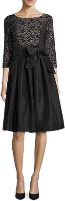 JESSICA HOWARD Jessica Howard 3/4 Sleeve Fit & Flare Dress $59.99 thestylecure.com