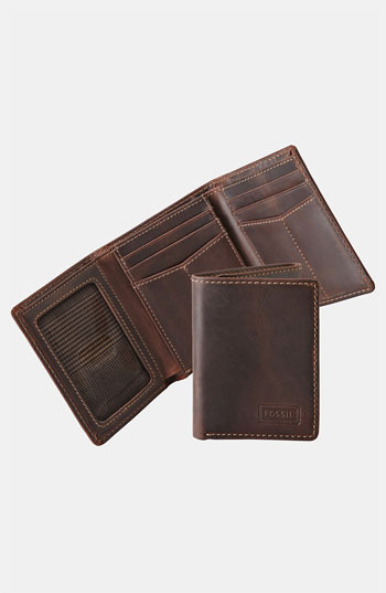 Fossil 'Sam' Trifold Wallet