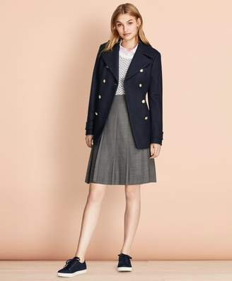 Brooks Brothers Wool-Blend Peacoat