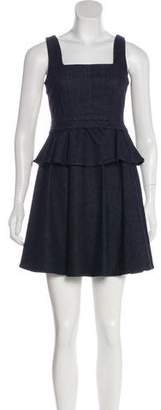 Marc by Marc Jacobs Sleeveless Peplum Dress w/ Tags