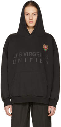 Yeezy Black Las Virgenes Unified Double Layer Hoodie