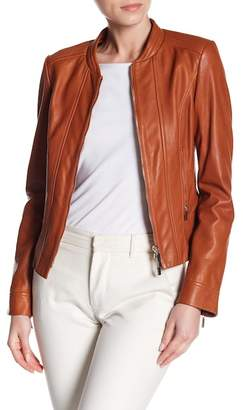 BOSS Sabzia Leather Jacket