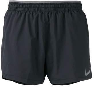 Nike elasticated logo shorts