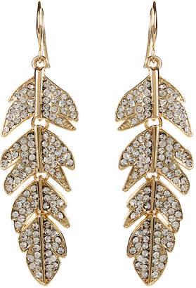 Amrita Singh Hanging Leaf Earrings