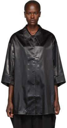 Lemaire Black Maxi Shirt