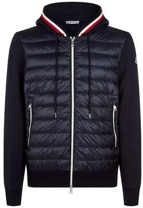 Moncler Multi-Textured Zip Up Cardigan