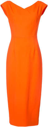 Diane von Furstenberg sleeveless fitted dress