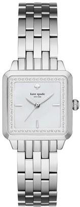 Women's Kate Spade New York Washington Square Bracelet Watch, 25Mm $250 thestylecure.com