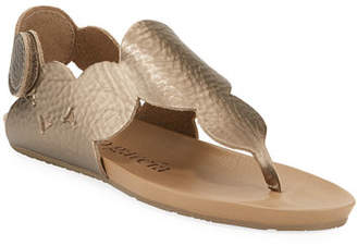 Pedro Garcia Jamee Flat Cervo Circle Thong Sandals