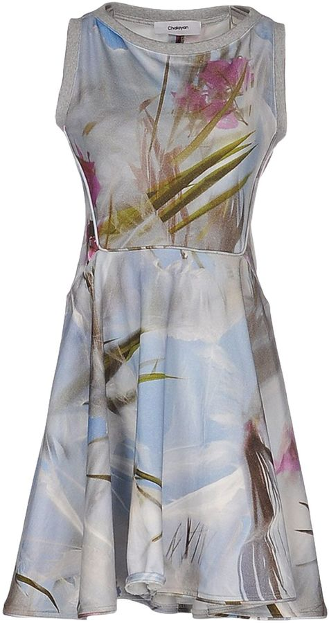 ChalayanCHALAYAN Short dresses