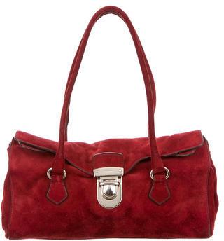 pradaPrada Camoscio Easy Shoulder Bag