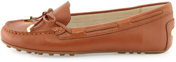 MICHAEL Michael Kors Daisy Leather Moccasin Loafer 2