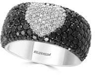 Effy Prism Black Diamond Heart Ring