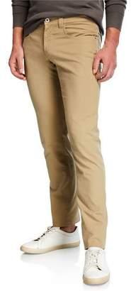Loro Piana Men's Cotton Comfort Slim-Fit 5-Pocket Pants
