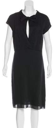 Derek Lam Short Sleeve Midi Dress