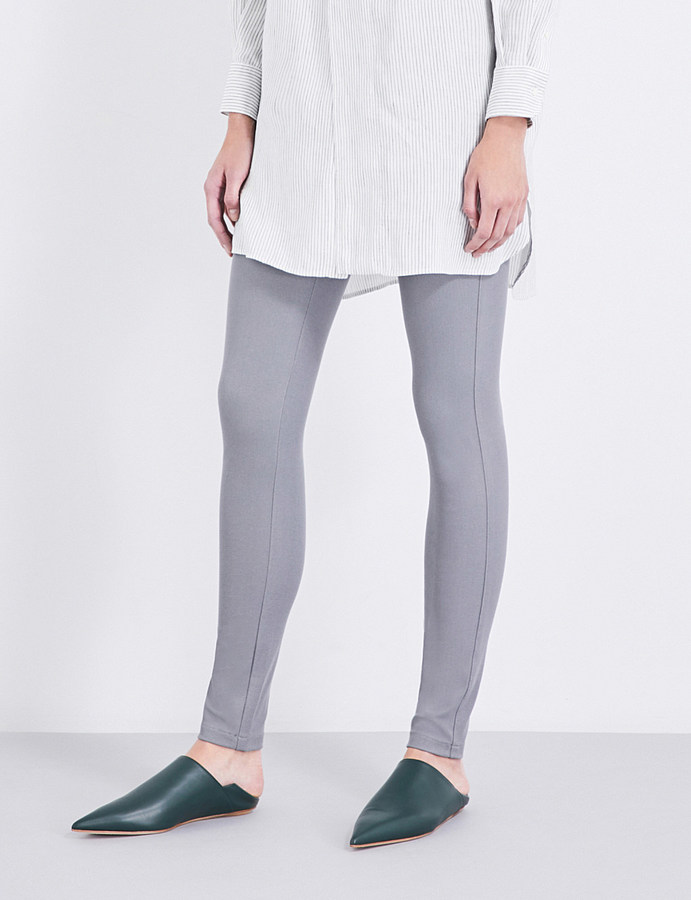 JOSEPHjoseph High-rise slim-fit stretch-gabardine leggings