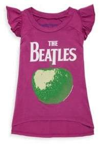 Rowdy Sprout Toddler's, Little Girl's & Girl's Beatles Apple Flutter Tank Top