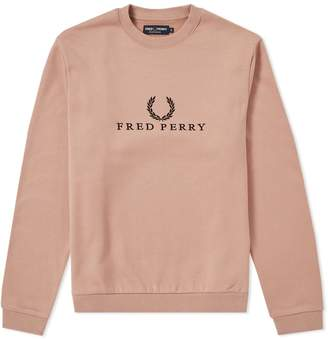 Fred Perry Authentic Embroidered Sweat
