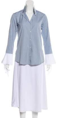 Palmer Harding palmer//harding Striped Long Sleeve Top