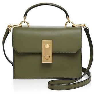 FLYNN Bertie Top Handle Leather Satchel $295 thestylecure.com