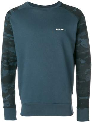 Diesel front logo sweatshirt