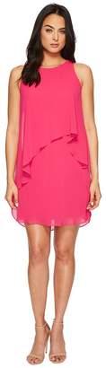 Lauren Ralph Lauren Lonia Georgette Dress Women's Dress