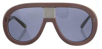 Stella McCartney Pilot Oversize Sunglasses