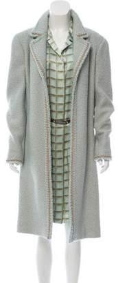 Chanel Wool & Silk Bouclé Dress Set