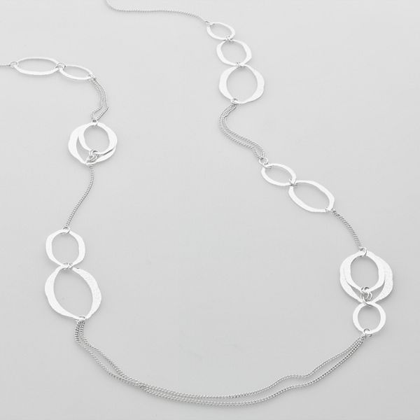 Apt. 9® Silver-Tone Long Necklace
