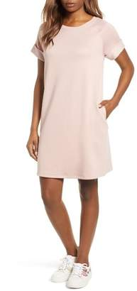 Caslon French Terry Shift Dress
