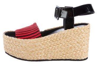 Céline Knit Platform Sandals w/ Tags
