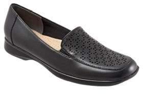 Trotters Jenn Laser Leather Loafers
