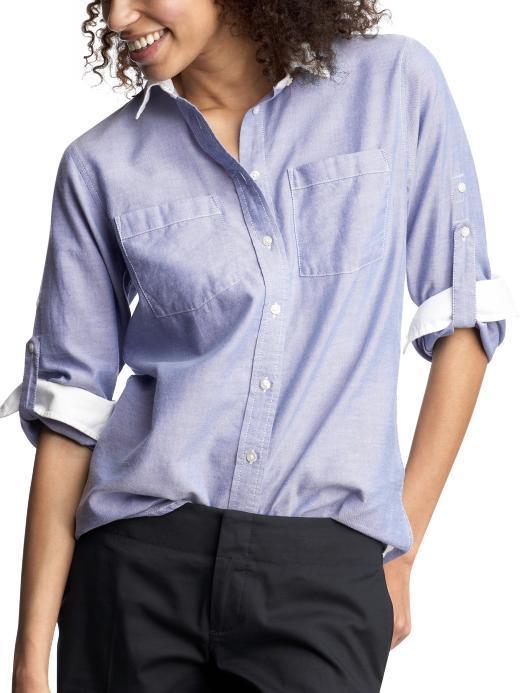 Boyfriend banker shirt