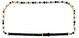 Dolce & Gabbana Embellished Lace Belt w/ Tags