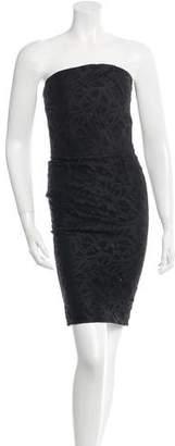 Roland Mouret Strapless Lace Dress w/ Tags