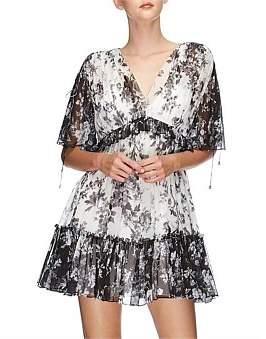 Lover Midsummer Silk Mini Dress