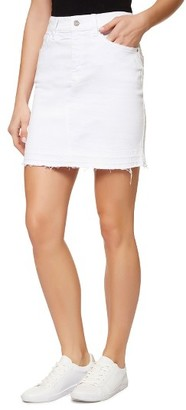Women's Sanctuary Peyton Frayed Denim Skirt $89 thestylecure.com