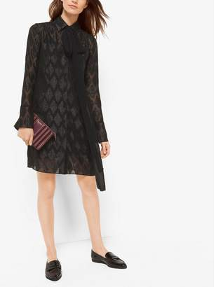 MICHAEL Michael Kors Diamond Jacquard Dress