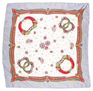 Bottega Veneta Jewel Silk Scarf